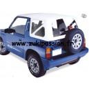 Bâche de remplacement Suzuki/Santana Vitara Blanche MK1